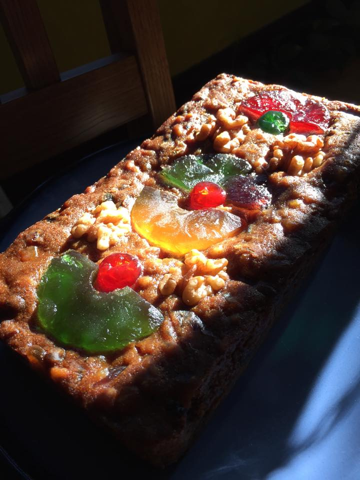 Fruitcake from Tony Ward